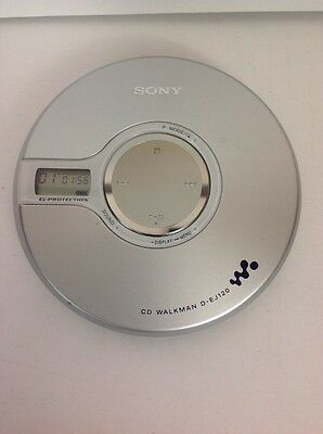 Sony D-EJ120 CD Walkman G-Protection Tested Personal Portable Cd Player Nice!