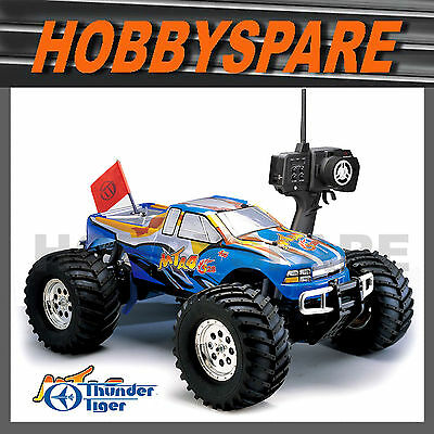 New Thunder Tiger 1/8 Mta S28 Nitro 2 Speed 4Wd Monster Rc Truck Rtr Blue