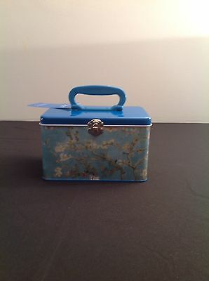 Vtg Vincent Van Gogh Metal Lunch Box/Pail ~ Amsterdam Museum
