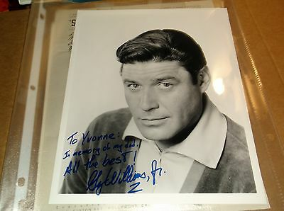 Guy Williams Jr Signed His Father Guy Williams Sr  Photo