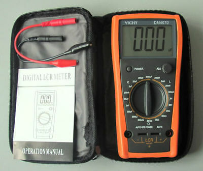 US seller DM4070 LCR Meter Multimeter Inductance Capacitance Ohm