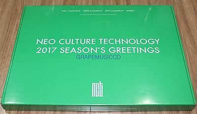 NCT 2017 Season's Greetings SM OFFICIAL CALENDAR + DIARY + PHOTO STANDING SEALED