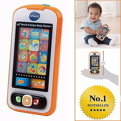 Toddler Phone Toy Touch Swipe Educational Game Development Play Baby Xmas Gift
