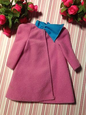 Mattel Vintage Barbie Fashion Doll Outfit Best Buy Pink My First Coat ~