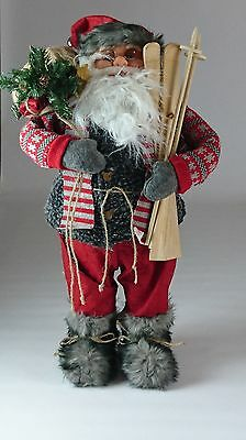 Large Standing Santa Father Christmas Ornament 64cm