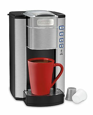 CUISINART Compact Single Serve Coffeemaker Stainless Steel