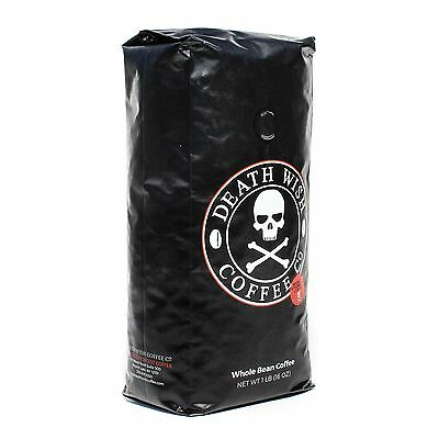 Death Wish Coffee The World's Strongest Whole Bean Coffee Fair Trade and Orga...