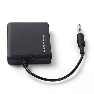 3.5mm Bluetooth A2DP Wireless AUDIO Sender stereo Adapter Transmitter Receiver