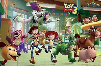 TOY STORY 3 BUZZ WOODY JESSIE POSTER 61x91cm New Licensed Print FREE POST