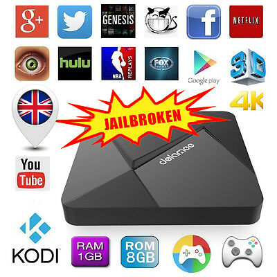 Latest 4K Fully Loaded Android 5.1 Quad Core Smart Tv Box Media Player Network