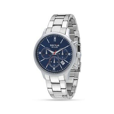 Orologio SECTOR 640 CHRONOGRAPH Stainless steel - R3273693004