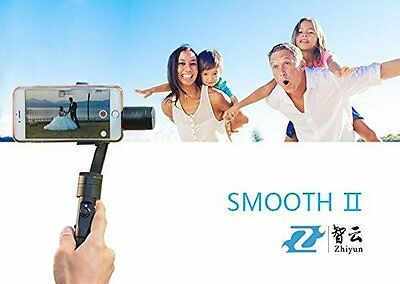 Zhiyun Smooth2 3 Axis Brushless Handheld Camera Gimbal Stabilizer for smartphone