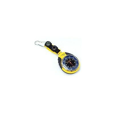 Siliceo ® Barometer Altimeter thermometer compass carabiner MINGLE