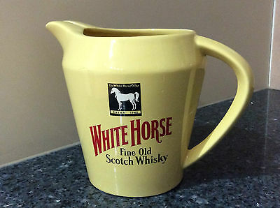 Horse Fine Old Scotch Whisky Wade England Ceramic Jug Made in England