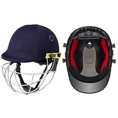 GM Icon Geo Cricket Helmet Top Grade Screw Adjusted Strap at the Back+Free Ship