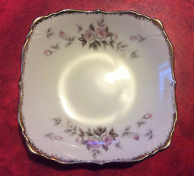Square Butter/Pin Dish by Cherry China Made in Japan