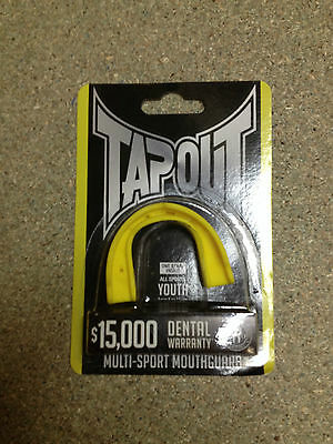 Junior Tapout Gum Shield - Yellow