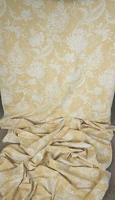 VINTAGE LAURA ASHLEY CURTAIN AND LIGHT UPHOLSTERY FABRIC 4 METERS x 1.4 METERS