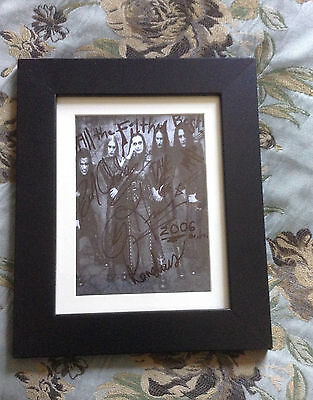 Cradle Of Filth Signed And Framed Photo 2006