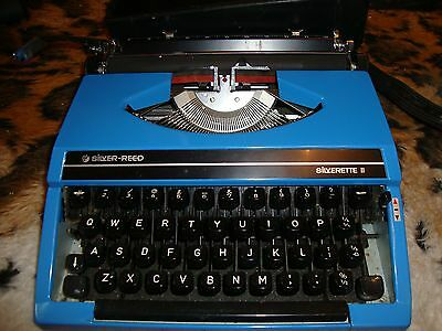 Typewriter Silver Reed Silverette 11