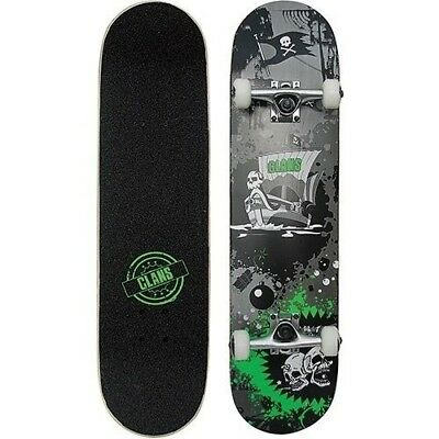 Clans 'Pirate Attack' Skateboard, Top Quality Christmas Gift Idea, Kids  it