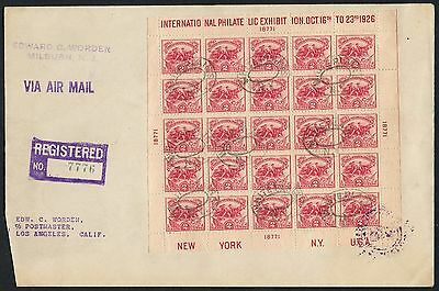 #630 Used On Worden Registered Mail First Day Cover Cv $1,500+ Bt4597 Chb16388