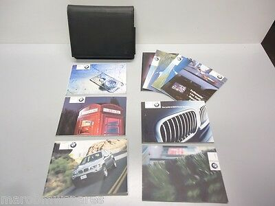 BMW E53 X5 2001-2003 Owners Manual Handbook + Navigation &Telephone Instructions