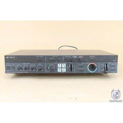 Sony XV-C700 Multi color corrector PAL