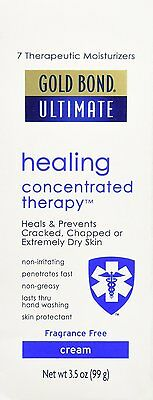Gold Bond ultimate healing concentrated skin therapy cream fast acting - 3.5 Oz