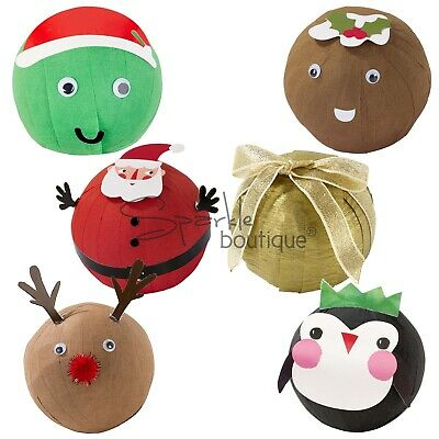 'PEEL THE SPROUT'/'UNROLL RUDOLPH' -Novelty Xmas Game-Like Pass the Parcel-Party