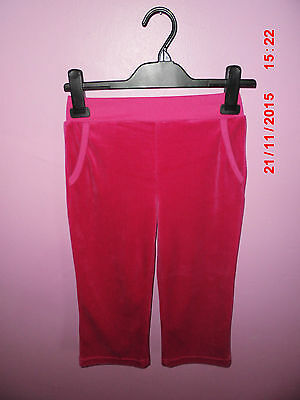 Miss Fiore Girls Pink Tracksuit Bottoms Pink Size 3/4 Years