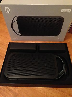 B&O PLAY By Bang And Olufsen A2 Bluetooth Speaker Black New