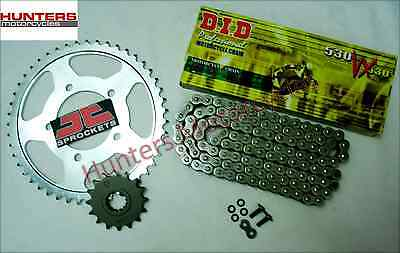 Yamaha FZS1000 Fazer  DID X-Ring Heavy Duty Chain & JT Sprocket Kit Set