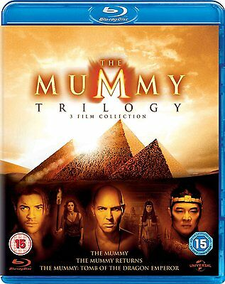 The Mummy 1-3 The Complete Trilogy New & Sealed Blu Ray Box Set