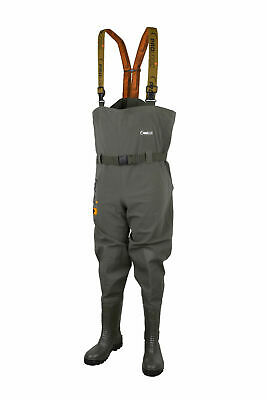 Prologic Road Sign Chest Waders - Carp Pike Barbel Tench Coarse Fishing Clothing