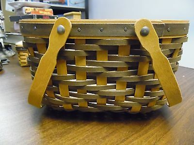 Longaberger 2008 Sales Achiever Basket with Protector