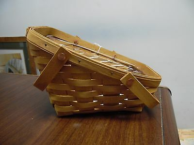 Longaberger Small Vegetable Basket With Protector