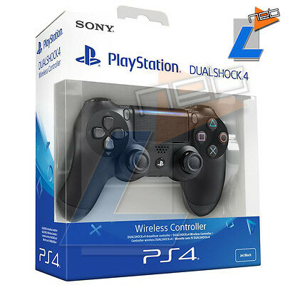 Controller Sony Ps4 Dual Shock 4 Ver.2 - Jet Black- Playstation Wireless Gamepad