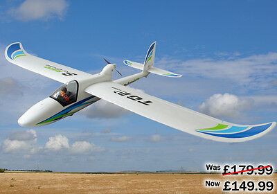 TOP RC Hobby Sky Cruise V2 Remote Radio Control 2400mm Wingspan PNP Glider Boxed