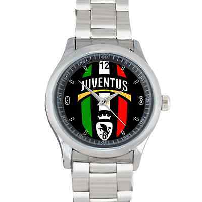 New Sport Stainless Watch Juventus Italy Logo