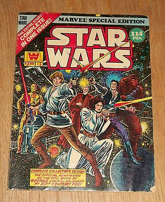Marvel Special Edition #3 Star Wars Whitman Complete Collector's Edition c1978