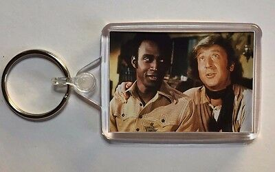 Blazing Saddles Gene Wilder Cleavon Little movie poster Magnet Keyring Brooks
