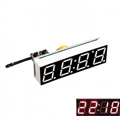 3 in 1 LED DS3231SN Digital Clock Temperature Voltage Module DIY Electronic S