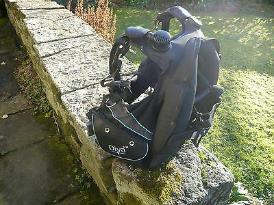 Seaquest Diva Lx Ladies Bcd With Surlock Intergrated Weight System Size Xs 8-10