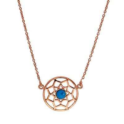 9ct Yellow Gold 16 inch Dreamcatcher Necklace                              7614