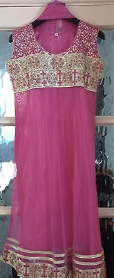 Baby Pink Indian Suit Size 8-10