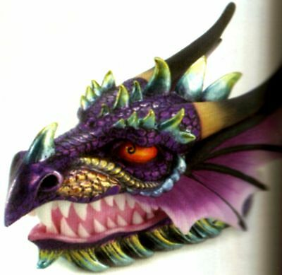 Striking Ferocious ** DRAGON HEAD JEWELRY, TRINKET, COIN OR TREASURE BOX ** NIB
