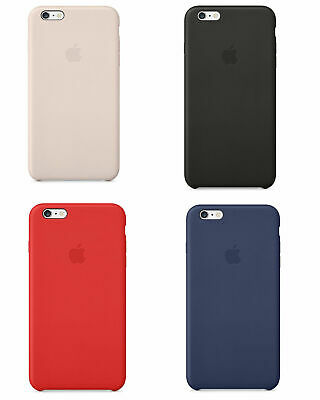 Original Apple iPhone 6 Plus 6S Plus Leder Case Schutz Hülle Tasche Backcover