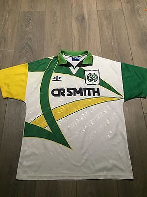 Celtic 3rd Shirt 1994/95 Large Rare And Vintage