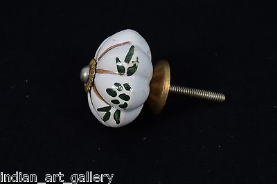 Nice decorative Vintage Beautiful Ceramic Drawer/Wardrobe/Door Knob. i24-24